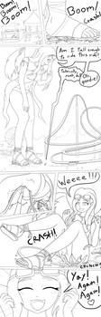 Angel is tall enough by JoeTheVenezuelan