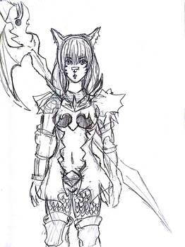 Final Fantasy XIV - Dragoon Miqo'te