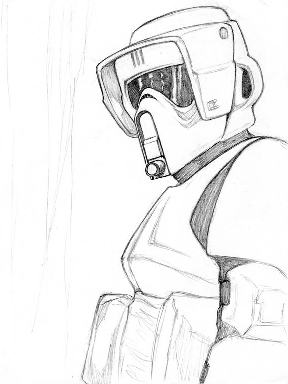 Star Wars Clone Sketches Some of my star wars fan art