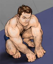 Hank McCoy - colored by NMRosario