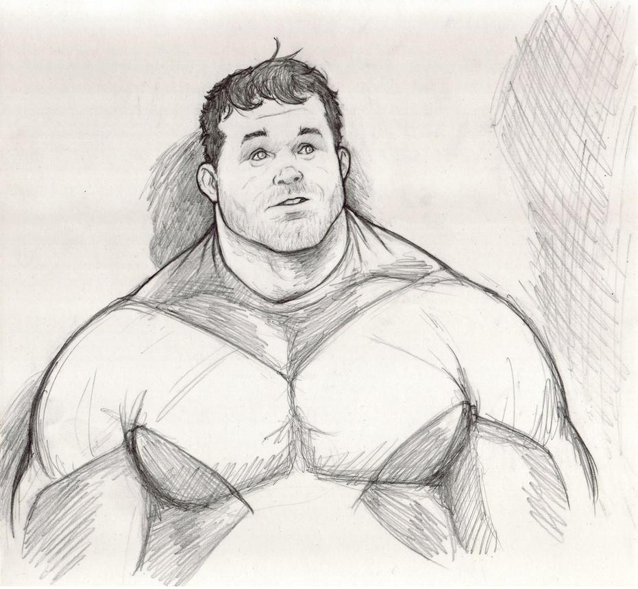 X-Factor 'Brainless' Beast sketch by NMRosario