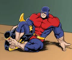 The Beast vs. Cyclops by NMRosario