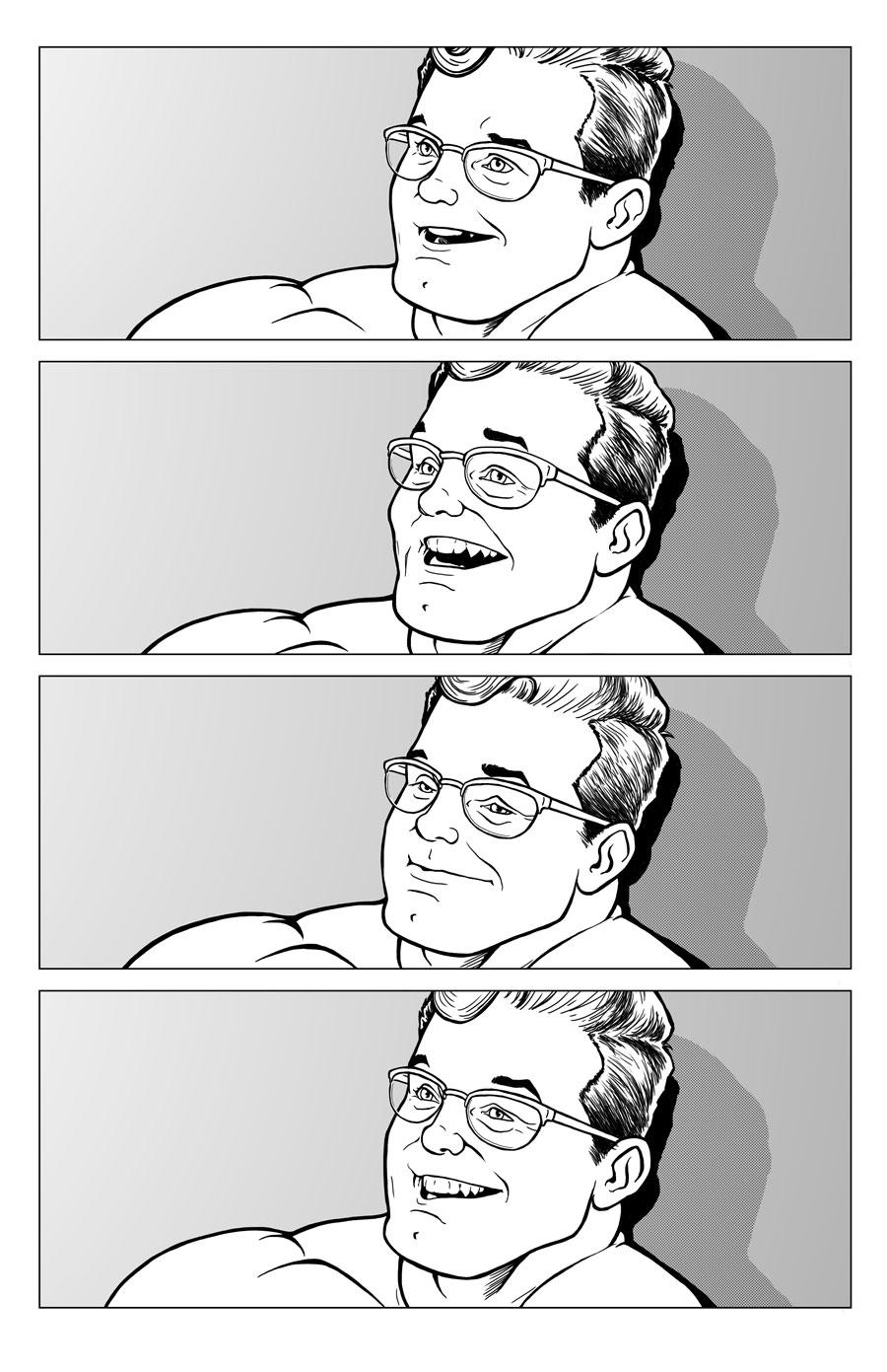 Hank McCoy facial expressions study by NMRosario
