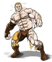 Uncanny Avengers Sabretooth by NMRosario