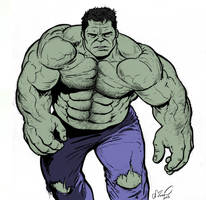 The Incredible Hulk by NMRosario