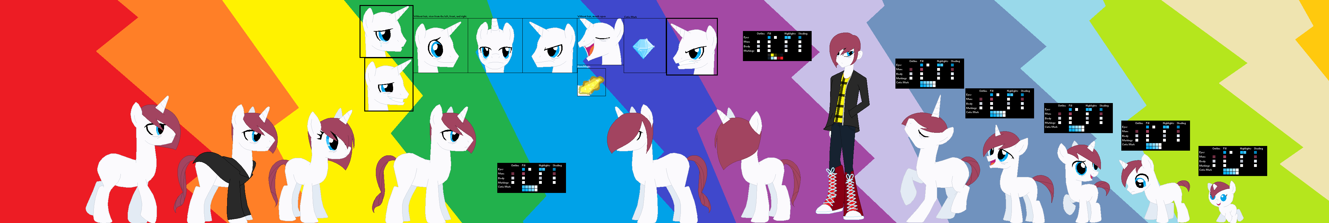 MLP/BASE Stevey Diamond ultimate Reference by IsaacLover