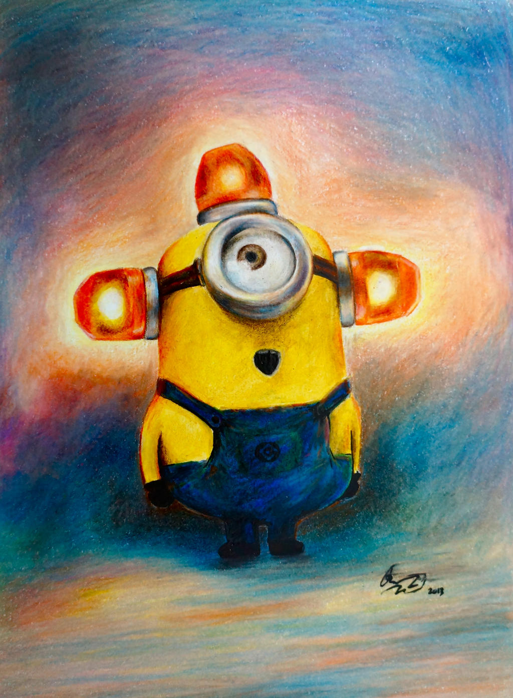 Minion: Carl, Beedoo Beedoo Beedo by qqClare on DeviantArt