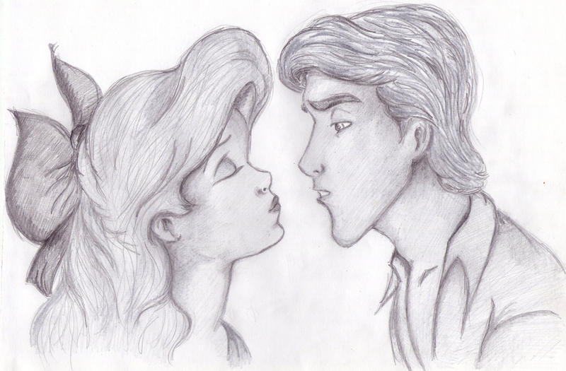 Ariel Drawings Tumblr Ariel and eric tumblr drawing