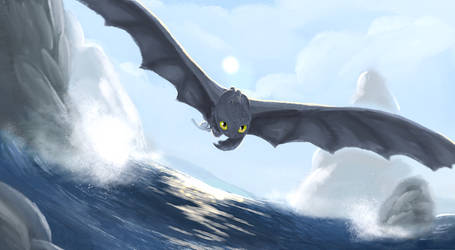 Toothless Brush test by ForestPanic