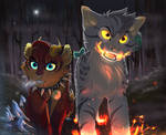 Fire And Ice | Commission for Jumpingjaxx