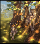 Walk with me | Commission for TheSparrowKiraThing