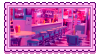 diner stamp by molly-stamps