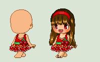 Free to use cherry dress by Suziki