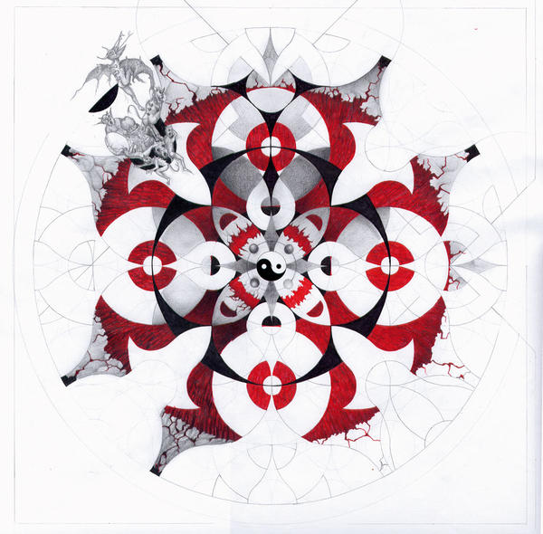 Mandala - WIP2 by MBKKR