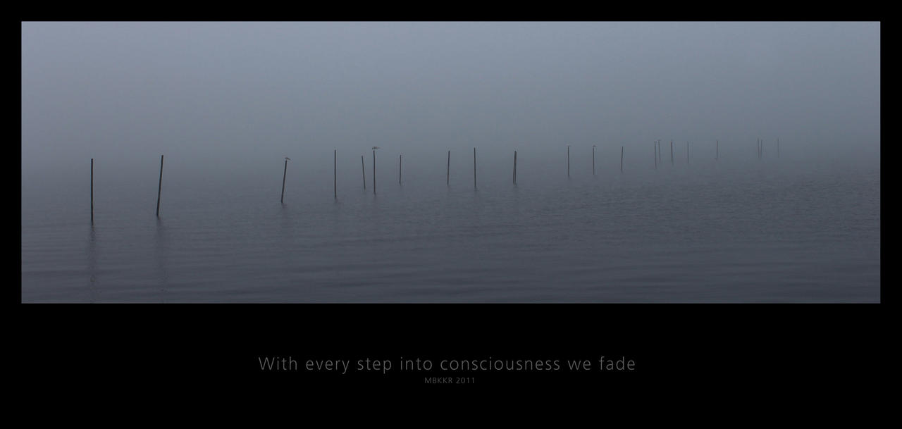 With Every Step In Consciousness We Fade by MBKKR