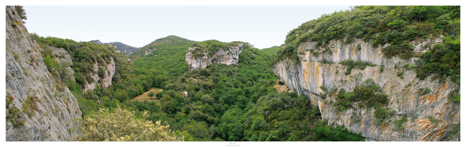 View at Fort Buoux - France by MBKKR