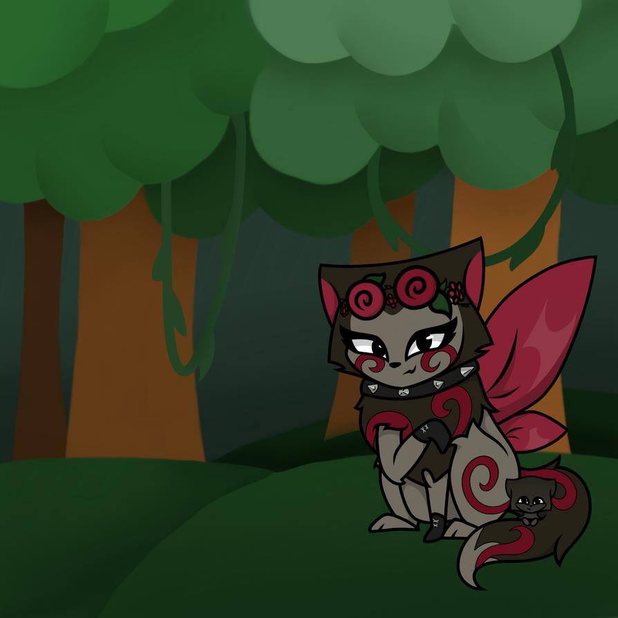 random aj character by EquinoxGalaxy