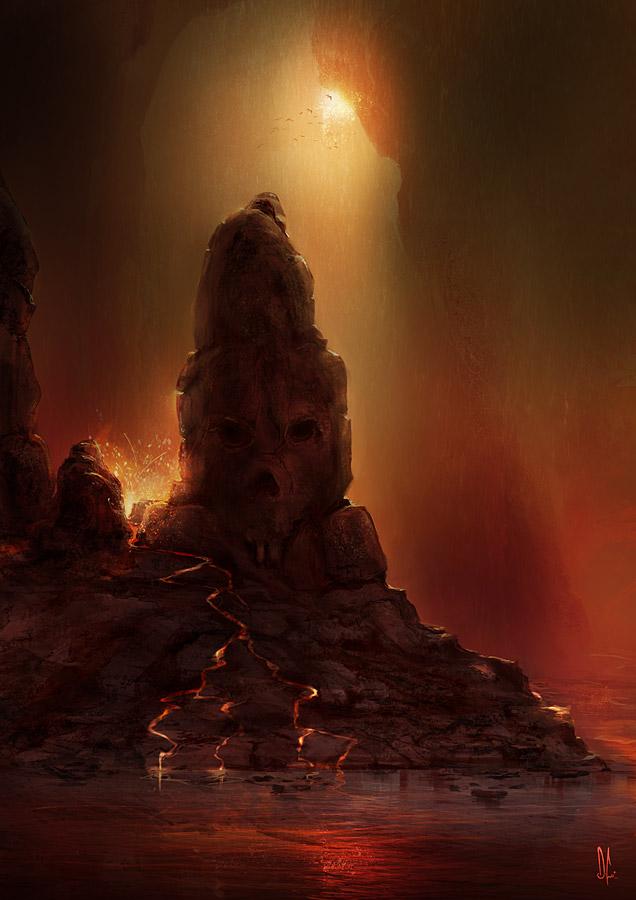 • Roca de la Calavera • Skullrock__by_D__CO