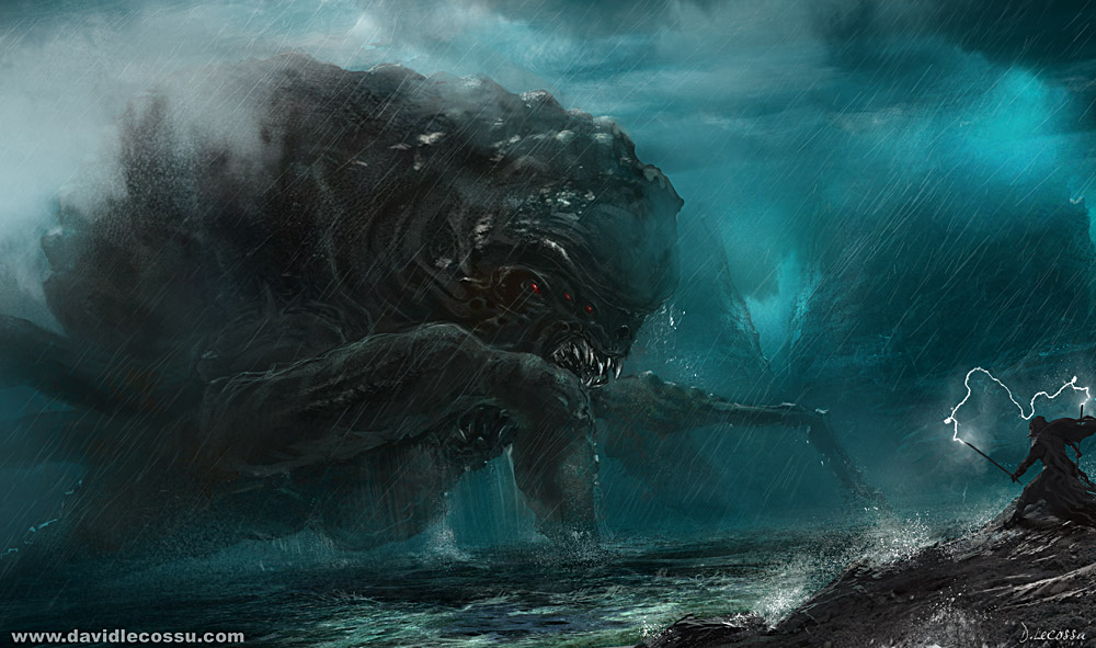 Sea Beast by D--CO