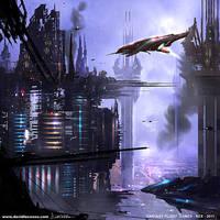 Fantasy Flight Games 'REX' Artwork 6 by D--CO