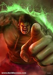 DLecossu Hulk by D--CO