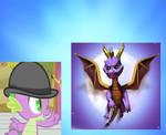 Purple Brogons (Spike and Spyro)