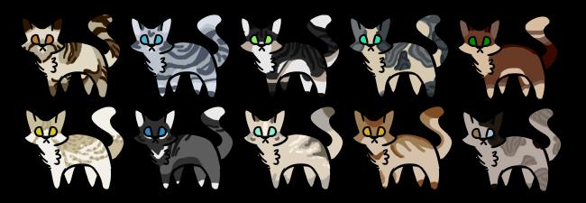 OPEN } Point Feline Batch #2 by adoptiq