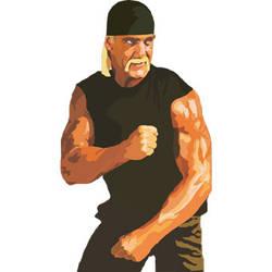 Hulk Hogan T-shirt Design