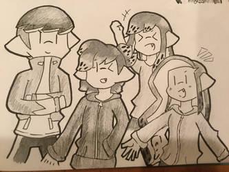 Band friendz by Ikkachu138