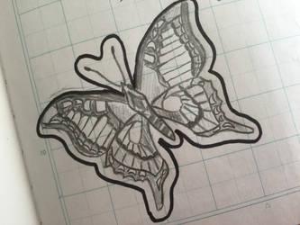 Butterfly by Ikkachu138