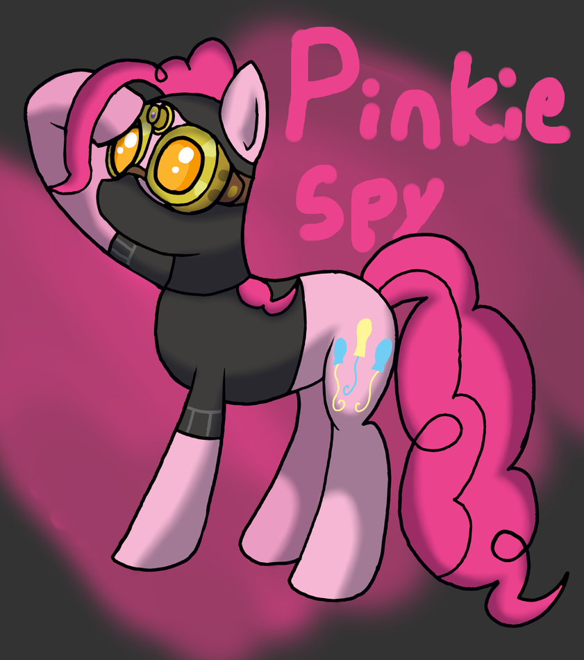 Pinkie Spy by WolfyOmega