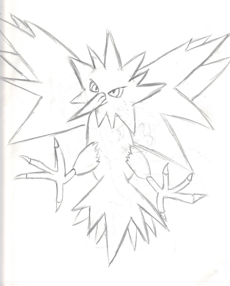 zapdos coloring pages - photo #13