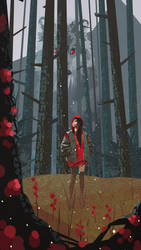 Little Red Riding Hood by vsevse