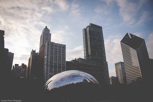 Cloud Gate by JasemineDenise