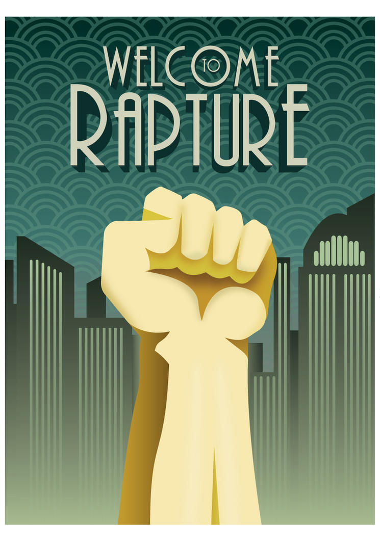 Welcome to Rapture Poster by vl2r