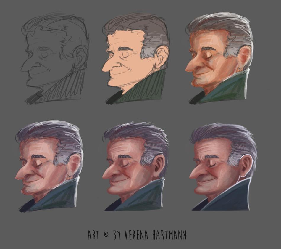 Robin Williams by verena-hartmann