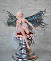 OOAK fae portrait jean harlow by fairiesndreams