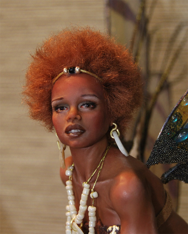 Ooak African Fairy Kiara By Fairiesndreams On Deviantart