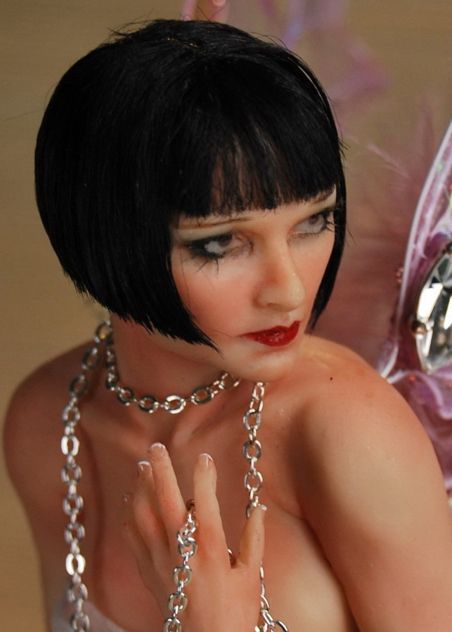louise brooks close up by fairiesndreams