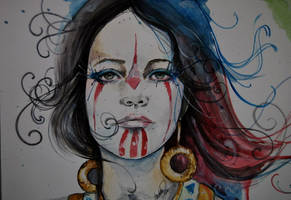 wild child watercolor 1 by fairiesndreams