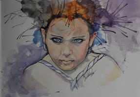 watercolor Pixie by fairiesndreams