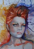 Girl on fire by fairiesndreams