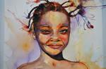 Nigerian Girl .Mother Africa I