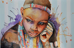 Mother Africa 2 - Ebore Girl by fairiesndreams