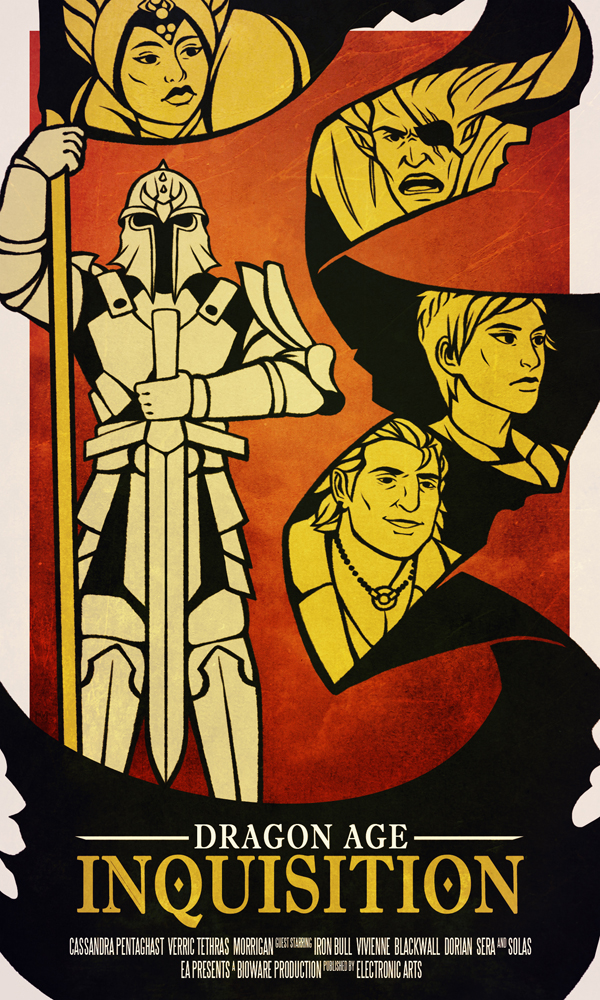 Dragon Age Poster Contest Entry by ReaperClamp