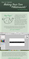 Making Your Own Copyright Watermark Tutorial