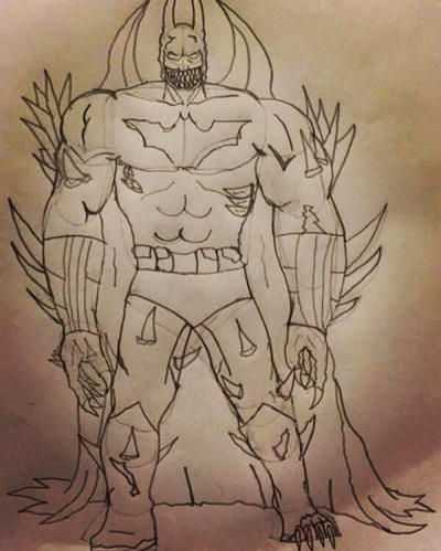 Titan batman  by zillaboy2017