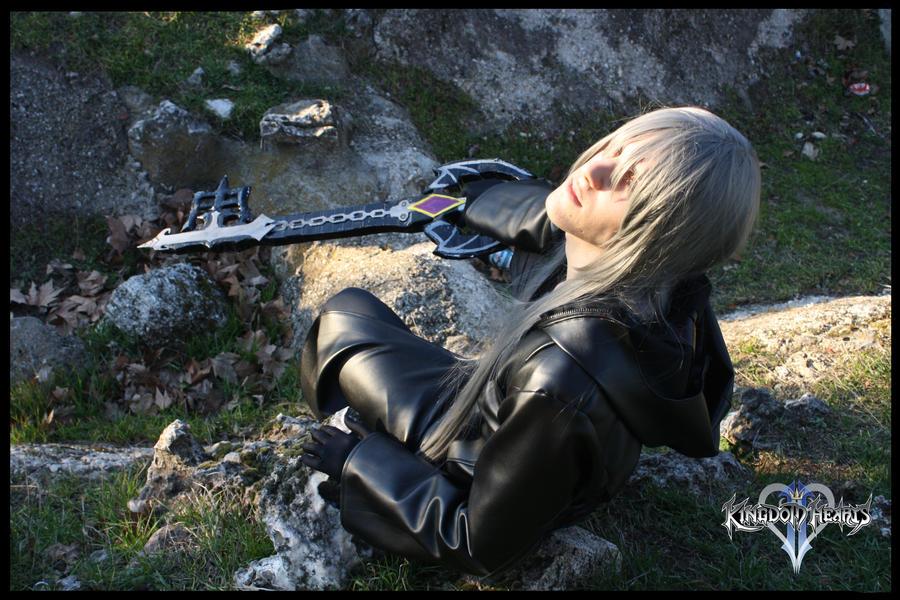 Riku Cosplay Kingdom Hearts II. by varzam