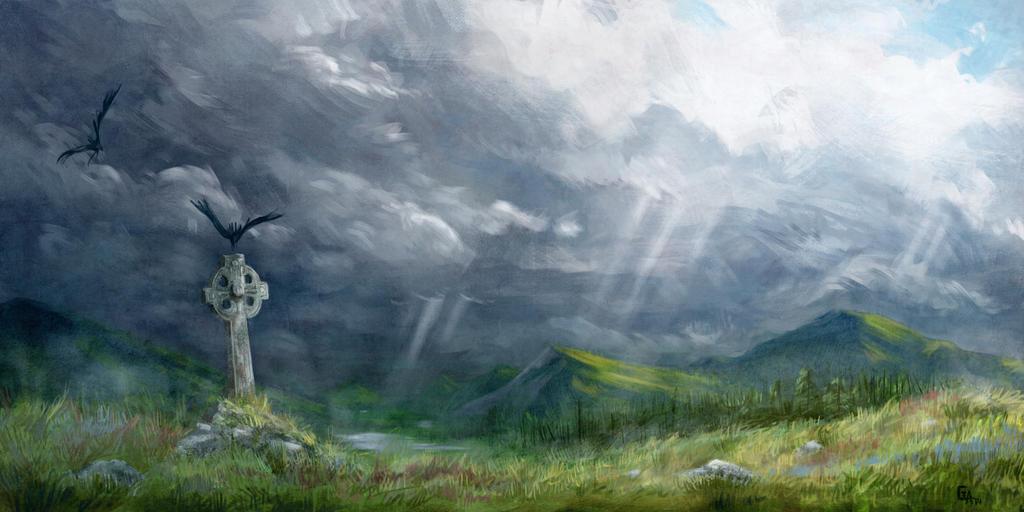 Irish Landscape by ghislainavrilllon