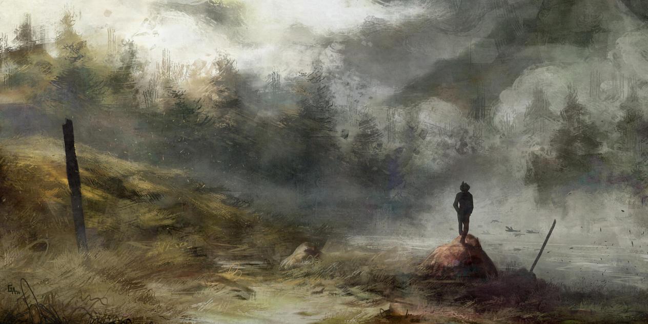 Hidden Lake by ghislainavrilllon
